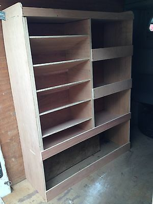 RENAULT MASTER LWB VAN SHELVING RACKING STEEL RACKS PACKAGE SBK1.1.2.11