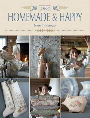 Tilda Homemade and Happy by Tone Finnanger (2014, Paperback)