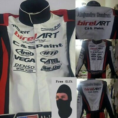 Birel Art Go Kart Racing Suit - Cik/Fia Level Ii Approved