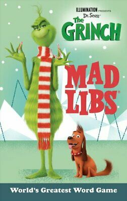 Illumination Presents Dr. Seuss' the Grinch Mad Libs 9781524788711
