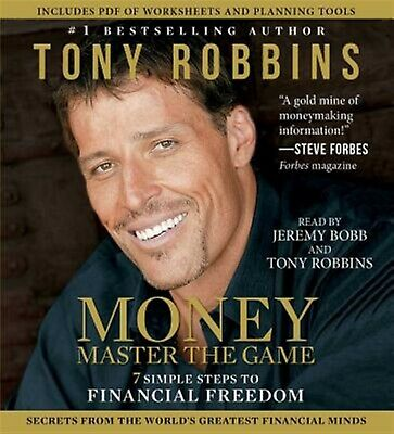 Money Master the Game: 7 Simple Steps to Financial Freedom by Rob 97814 CD-AUDIO