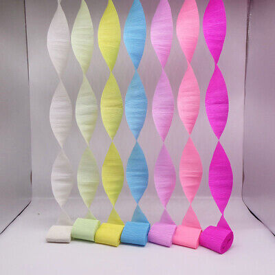 Supplies Paper Crepe Paper Wedding  DIY Streamer Party Decoration Paper Streamer