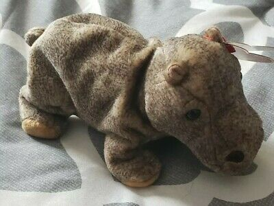 93858c402e3 TY TUBBO the HIPPO BEANIE BABY Plush Stuffed Animal