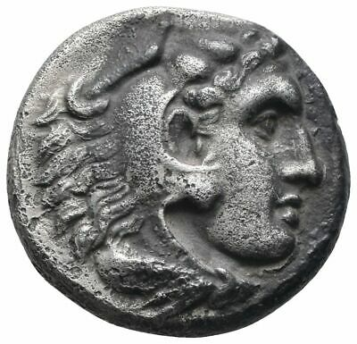 Koc Greek Coins.Alexander III 'the Great'.336-323 BC. Drachm 16mm.4,13g. Abydos