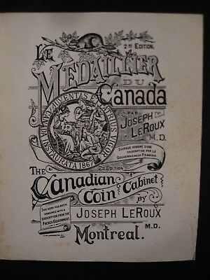 THE CANADIAN COIN CABINET LeROUX 1983-