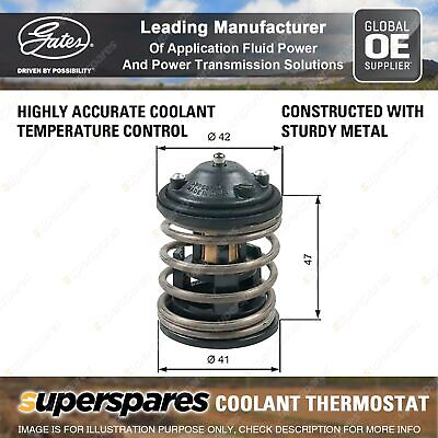 Gates Coolant Thermostat + Gaskets & Seals For BMW X3 E83 F25 2.0L 130kW 135kW