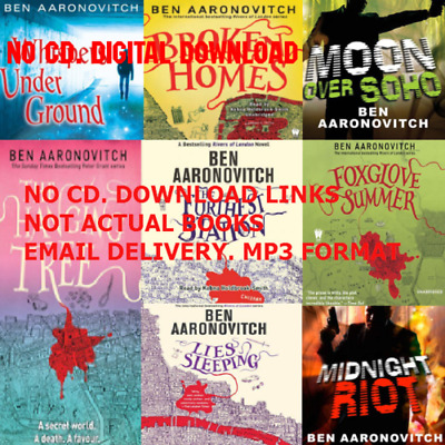 Peter Grant by Ben Aaronovitch SERIES 8 audio books COMPLETE