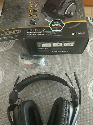 Auricular Wireless Gioteck Ex05S PS4-XBOX-PC