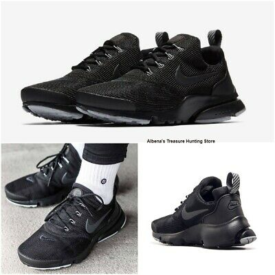 the latest d0d5e 83e36 NEW NIKE PRESTO Fly GS Boys Athletic Shoes Black/Wolf Grey Size US 4/EU 36