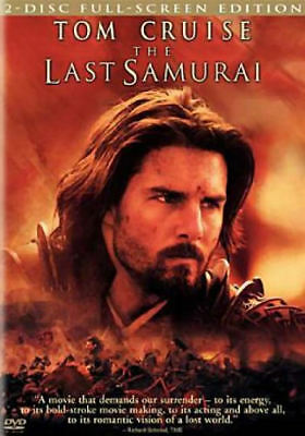 The Last Samurai (DVD, 2004, 2-Disc Set, Full-Screen) - Acceptable