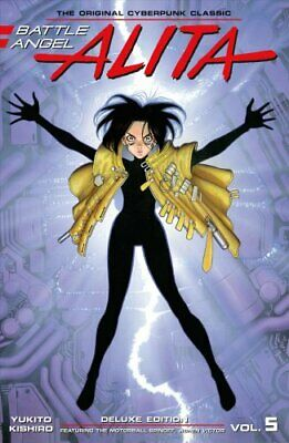 Battle Angel Alita Deluxe Edition 5 by Yukito Kishiro 9781632366023