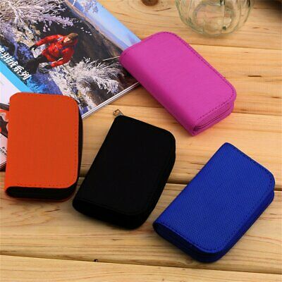 SD SDHC MMC CF Micro SD Memory Card Storage Carrying Pouch Case Holder Wallet MT