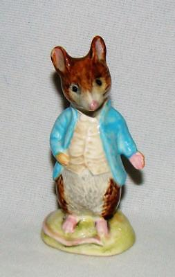 The Best Beswick Boxed Johnny Town-mouse With Bag Rare Bp4 Only Issued 1988-89 Perfect Pottery