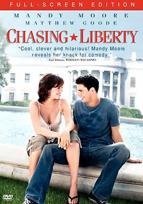 Chasing Liberty (DVD, 2004, Full-Screen, Snap-case) - Acceptable