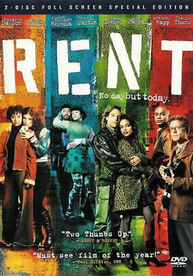 Rent (DVD, 2006, 2-Disc Set, Special Edition, Full Screen) - Acceptable