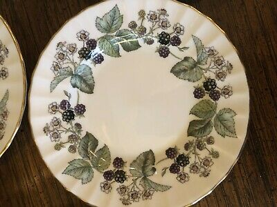 4 Royal Worcester Lavinia Butter plates $12.00 each good condition One owner.