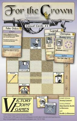 Vpg Cardgame For The Crown Mounted Map Zip Mint Card Games & Poker