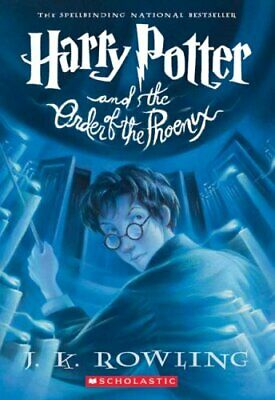 Harry Potter and the Order of the Phoenix by J. K. Rowling 9780439358071