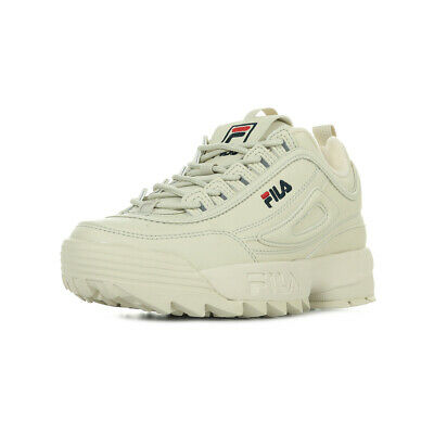 Antique White Chaussures Wn's Femme Baskets Fila Disruptor Low P0wOn8k