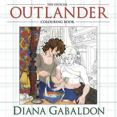 The Official Outlander Colouring Book (Colouring Books) by Gabaldon, Diana, NEW