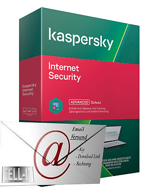 Kaspersky Internet Security, 2019, 1PC, 1 Jahr, VOLLVERSION, Multi Device