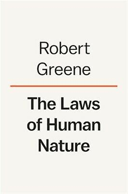 The Laws of Human Nature by Greene, Robert -Hcover