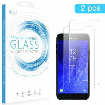 For Samsung Galaxy S7 Tempered Glass LCD Screen Protector Film Cover 2-Pack