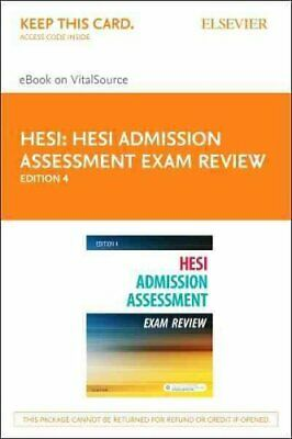 Admission Assessment Exam Review by HESI (2016, Online Resource)