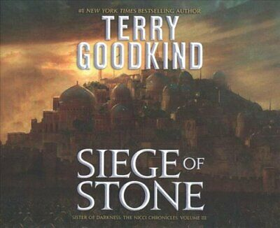 Siege of Stone by Terry Goodkind 9781543639278 (CD-Audio, 2018)