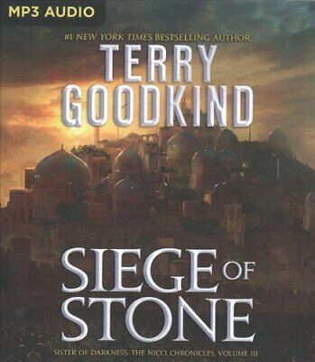 Siege of Stone by Terry Goodkind 9781543639308 (CD-Audio, 2018)