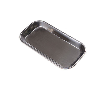 Dental Stainless Steel Surgical Tray Dental Dish Lab Instrument Tool 22*11*2cm J