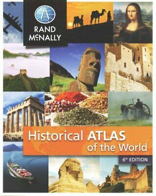 New Historical Atlas of the World by Rand McNally 9780528014475