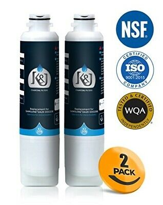 Samsung Compatible Refrigerator Water Filters for DA2900020B, RF263BEAESR, and R