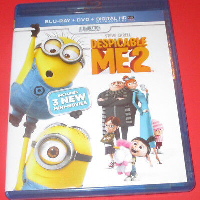 Despicable Me 2   Blu-Ray Only  Steve Carell