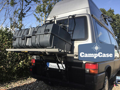 CampCase Camping Transportbox Kitebox Heckbox mit EINLEGEBÖDEN