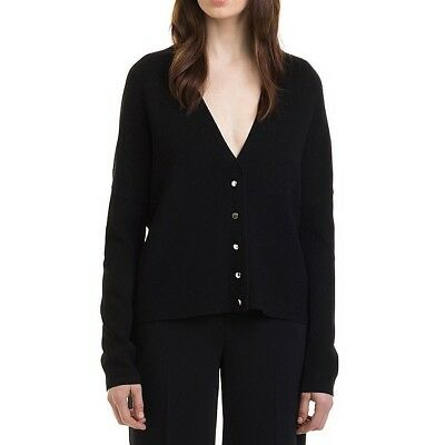 NEW Country Road Black Oversized Rib Cardigan | Size L XL 14 16 | RRP $139