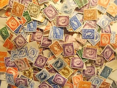 1000~GB Genuine Unsorted Wildings Charity Kiloware Stamps~off paper UK Seller