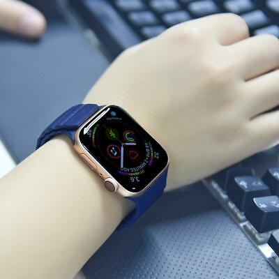 Magnetic Leather Loop Watch Strap Wrist Band for Apple iWatch Series 4 44mm