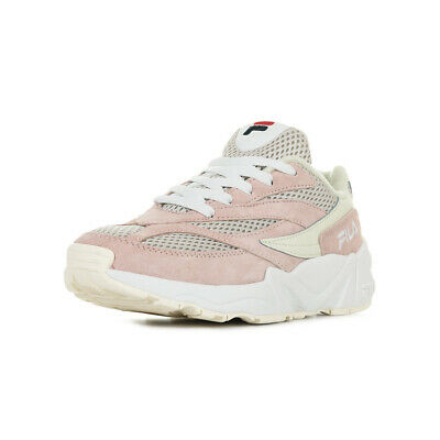 "Chaussures Baskets Fila femme Venom 94 Low Wn's ""Spanish Villa"" taille Rose Cuir"