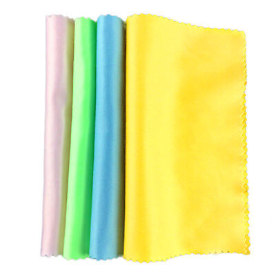5pcs Microfiber Screen Cleaner Cleaning Cloth For Screen Camera Lens Eye Glasses