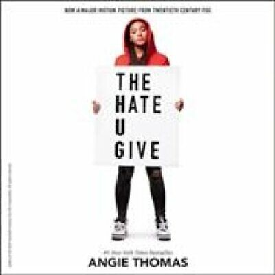 The Hate U Give by Angie Thomas (2017, CD)