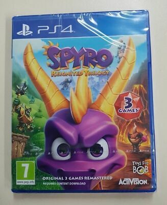 Spyro Reignited Trilogy - PS4 - New & Sealed - Fast Dispatch
