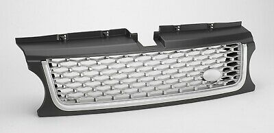 Range Rover Sport 2009>13 2010 AB Style Front Grille Grey + Silver mesh-RE9028