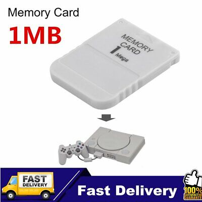 NEW 1MB Memory Card Save Blocks SONY Playstation 1 PS1 PS PSX One QM