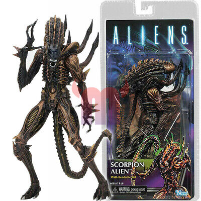 "NECA Scorpion Alien 7"" Action Figure w Bendable Tail Series 13 Aliens Movie New"