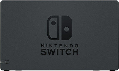 Genuine Nintendo Switch Dock Set (HDMI + AC Power Cable) Black (HACACASAA) - UD