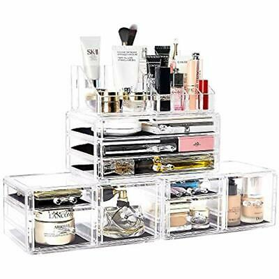 812aefa23378 MAKEUP ORGANIZERS ORGANIZER 4 Pieces Acrylic Jewelry And Cosmetic Storage  Boxes
