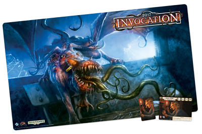 Invocation 2017 - Arkham Horror LCG Playmat - New