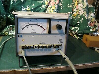HP Agilent 3406A Broadband sampling voltmeter