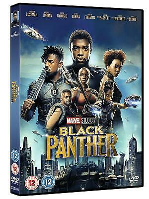 Black Panther 2018 DVD Award Winning Sci-Fi Film Movie Disc UK Stock